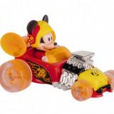 Mini masinuta Mickey Hot Rod Super Charged