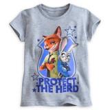Tricou Nick si Judy - Zootropolis, Disney