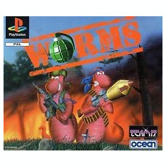 WORMS - PS1 [Second hand], Multiplayer, Strategie, 12+