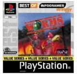 Worms  - Best of Infogrames  - PS1 [Second hand], Strategie, 12+