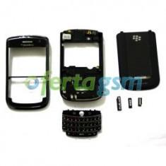Carcasa complete BlackBerry 9630 black originala
