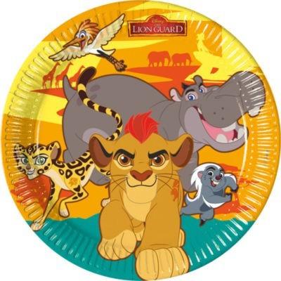 Farfurii petrecere Lion Guard - Garda Felina