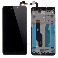 Ansamblu display touchscreen Xiaomi Redmi Note 4X negru swap