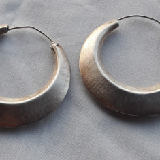 CERCEI argint TRIBALI opulenti VECHI superbi De EFECT executati manual VINTAGE