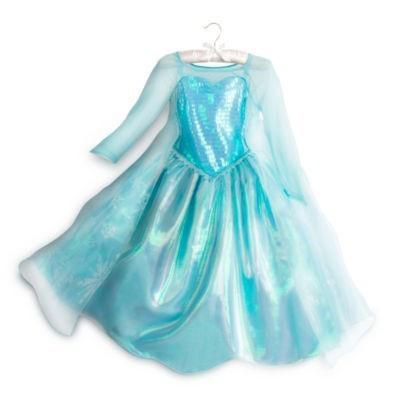 Costum - Rochie Elsa Frozen foto mare