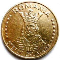 ROMANIA, STEFAN CEL MARE, 20 LEI 1993 - Moneda Romania, Bronz