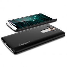 Husa subtire slim Spigen SGP11803 LG V10 din policarbonat - Husa Telefon SPIGEN, Negru, Fara snur