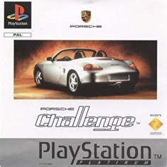 Porsche Challenge PLATINUM - PS1 [Second hand], Multiplayer, Curse auto-moto, Toate varstele