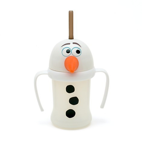 Pahar cu pai Olaf Frozen