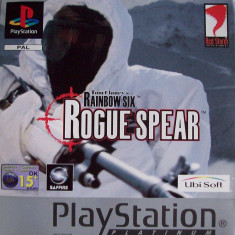 Tom Clancy's Rainbow Six Rogue Spear PLATINUM - PS1 [Second hand], Multiplayer, Shooting, Toate varstele