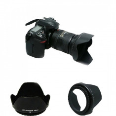 Parasolar tip DC-SN HOOD 52mm tip petala for AF-S DX 18-55mm f/3.5-5.6G VR II