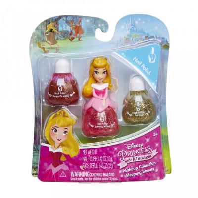 Set machiaj Disney Princess - Aurora nail foto