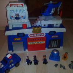 Playmobil Sectia Mobila de Politie - Set de constructie