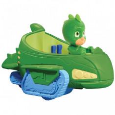 Figurina Sopi + vehicolul Sopi mobil - Eroi in Pijama, Disney