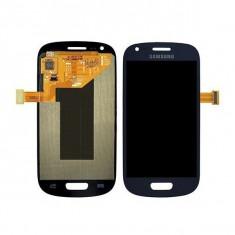 Ansamblu display touchscreen Samsung S3 Mini i8190 albastru