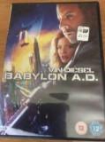 BABYLON A.D. - FILM DVD ORIGINAL, Engleza, FOX