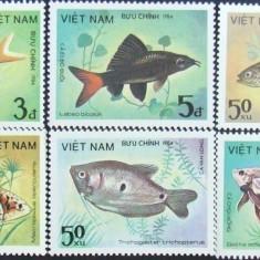 VIETNAM - PESTI, 1984,   7 V ,  NEOBLIT., Mi = 6 Eu -  V 28