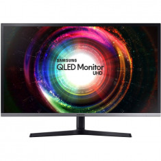 Monitor Samsung LU32H850UMUXEN 31.5 inch QLED UltraHD 4ms Negru