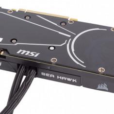 Placa video MSI NVIDIA GeForce® GTX 1080 SEA HAWK X, PCI Expressx16 3.0, 8192MB GDDR5X , 256bit, 1607MHz/1847 MHz, DisplayPort x 3 (Version bulk, PCI Express