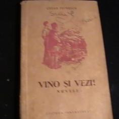 VINO SI VEZI-CEZAR PETRESCU-NUVELE-ILUSTRATII-RADU VIOPREL-393 PG-, Alta editura