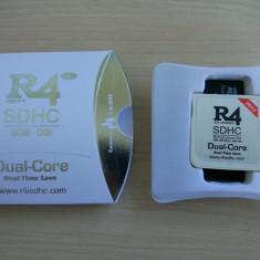 Card modare R4i rts dualcore ds dsi v1.45 - 3ds v11.0.0-33 R4 2018 + microsd 16G, Card memorie