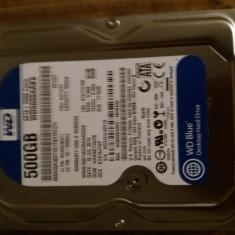 Hard disk de 500gb sata de calculator 100 la 100 functional Wd blue \16mb cache, Western Digital