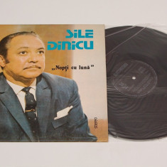 Sile Dinicu - Nopti cu luna - disc vinil ( vinyl , LP ) NOU, electrecord