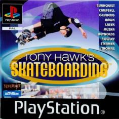 Tony Hawk Skateboarding - PS1 [Second hand], Multiplayer, Sporturi, Toate varstele