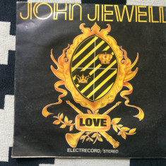 John jewell love album disc vinyl lp muzica pop electrecord, VINIL