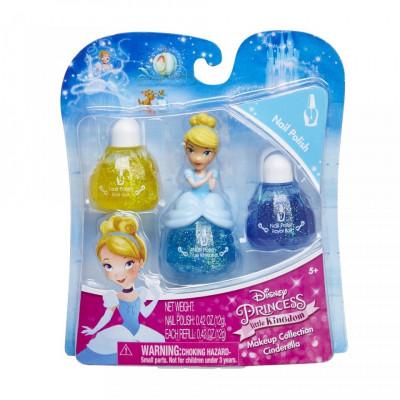 Set machiaj Disney Princess - Cinderella nail foto
