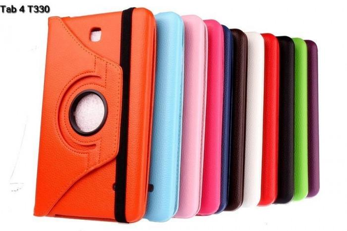 """Husa rotativa 360 Samsung Galaxy Tab 4 8"""" T330 SM-T330  T335 SM-T335 + stylus foto mare"""