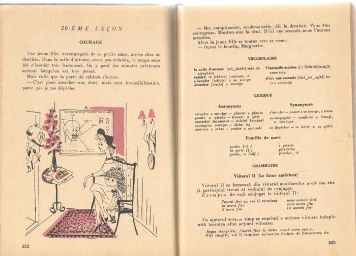 Invatati Limba Franceza Fara Profesor Ed.Stintifica 1964 Ed. a II-a cartonata