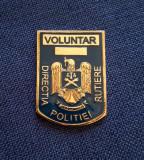Placheta Voluntar - Directia politiei rutiere