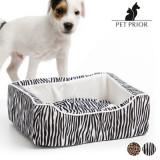 Pat pentru Câini Pet Prior (45 x 35 cm)Zebră