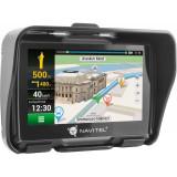 "Sistem de navigatie GPS Navitel G550 Moto, ecran 4.3"" cu GPS, IP-67 si supot pentru casti BT A2DP"