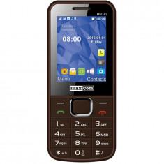 Telefon mobil Dual SIM MaxCom Classic MM141, Brown