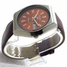 Ceas automatic Seiko - 4 - Ceas barbatesc Citizen, Casual, Mecanic-Automatic, Inox, Piele, Ziua si data