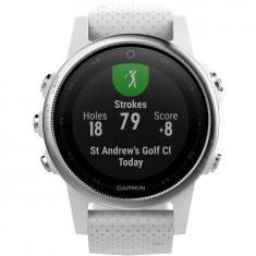 Smartwatch Garmin Fenix 5s, Heart Rate, GPS, Carrara White