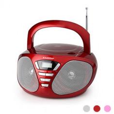 AudioSonic Stereo cu Player Radio CDCD1568 Roșu