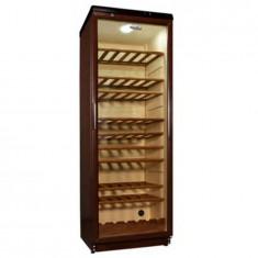 Vitrina pentru vinuri ADN 231 , 330 l, H 173 cm, 9+1 rafturi din lemn natural, filtru carbon, Whirlpool