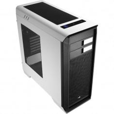 Carcasa Aerocool ATX AERO-1000 WHITE, USB 3.0, fara sursa