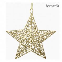 Stea de Crăciun Fier Aur by Homania - Globuri brad