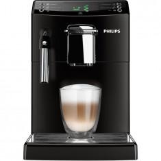 Espressor Philips automat HD8841/09, 1.8 l, 1850 W, sistem clasic de spumare a laptelui, rasnite ceramice, functie CoffeeSwitch, 15 bar, negru