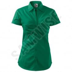 Camasa de dama chic (Culoare: Verde golf, Marime: M, Pentru: Femei) - Camasa dama
