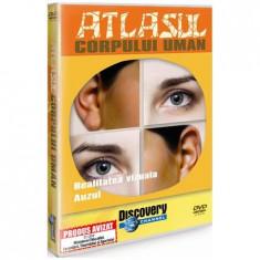 Atlasul corpului uman-realitatea vizuala. Auzul, DVD, Romana, discovery channel