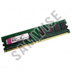 Memorie 2GB DDR2 667MHz, PC2-5300, Kingston pentru calculator, desktop - Memorie RAM