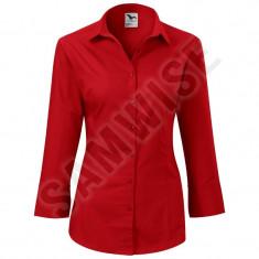 Camasa de Dama Style (Culoare: Rosu, Marime: XL, Pentru: Femei) - Camasa dama