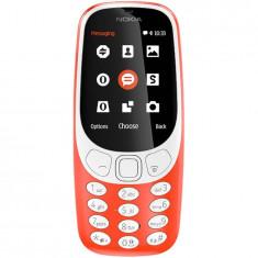 Telefon mobil Nokia 3310 (2017), Dual SIM, rosu