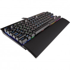 Corsair Gaming Keyboard K65 Cherry MX Speed, Backlit RGB LED (EU layout) - Tastatura PC