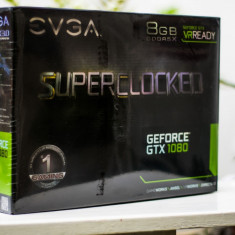 EVGA GeForce GTX 1080 SC GAMING 8GB 256bit | Sigilata + 3 Ani Garantie - Placa video PC